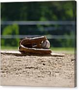 Baseball - America's Game Canvas Print