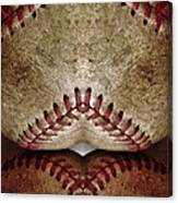 Baseball Eros Canvas Print