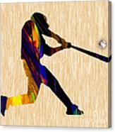 Baseball Game Art Canvas Print