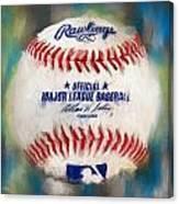 Baseball Iv Canvas Print
