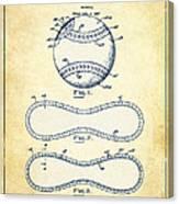 Baseball Patent Vintage Us1668969 Canvas Print