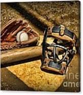 Baseball Play Ball Canvas Print