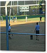 Baseball Practice Canvas Print