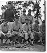 Baseball Team, 1938 Canvas Print