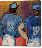 Baseball Team By Jrr  Canvas Print