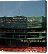 Baseballs Hollowed Ground Canvas Print