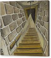 Basement Stairs Canvas Print