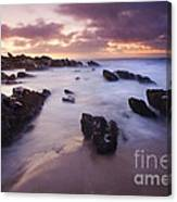 Basham Twilight Canvas Print