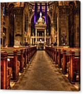 Basilica Of Saint Mary Canvas Print
