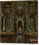 Basilica Of St. Josaphat Canvas Print