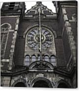 Basilica Of St Nicholas II Amsterdam Canvas Print