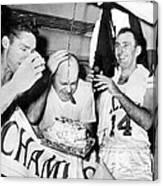 Basketball Champion Celtics Canvas Print