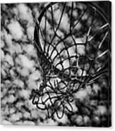 Basketball Heaven Canvas Print