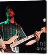 Bass Guitar Musician Canvas Print