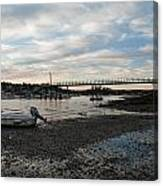 Bass Harbor At Low Tide Canvas Print