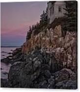 Bass Head Lighthouse Sunrise Canvas Print