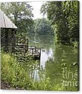 Bass Pond Biltmore Estate Canvas Print