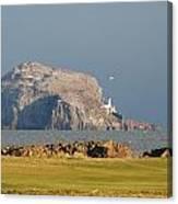 Bass Rock Scotland Canvas Print