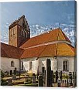 Bastad Church Canvas Print