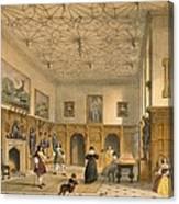 Bat Game In The Grand Hall, Parham Canvas Print