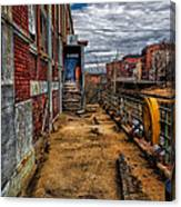 Bates Mill Office Canal Street Canvas Print