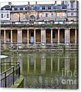 Bath Markets 8504 Canvas Print