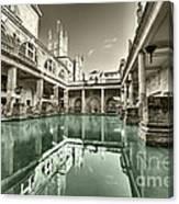 Bath Of Bath  Canvas Print