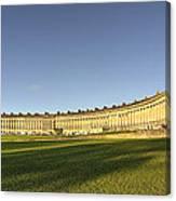 Bath Royal Crescent  Canvas Print
