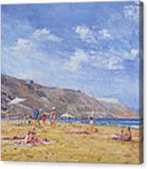 Bathers, Gozo  Canvas Print