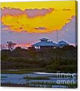 Bathouse Sunset Canvas Print