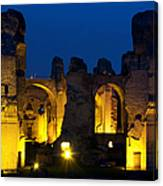 Baths Of Caracalla Canvas Print