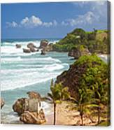 Bathsheba Beach Canvas Print