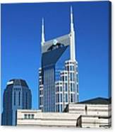 Batman Building And Nashville Skyline Canvas Print