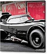 Batmobile Canvas Print