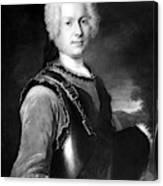 Batoni Monsieur De Salle Canvas Print