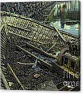 Battered Boat  Canvas Print