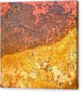 Battered To Rust Canvas Print