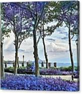 Battery Park In The Spring Canvas Print