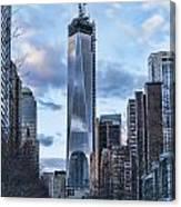 Battery Park Walk Canvas Print