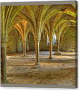 Battle Abbey Cloisters Canvas Print