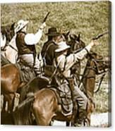 Battle Charge Canvas Print