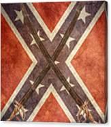 Battle Flag Civil War Confederate States Canvas Print