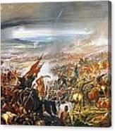 Battle Of Avay Canvas Print