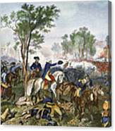 Battle Of Eutaw Springs Canvas Print