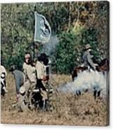 Battle Of Franklin - 3 Canvas Print