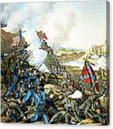 Battle Of Franklin Canvas Print