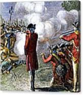 Battle Of Lexington Canvas Print
