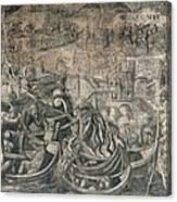 Battle Of M�hlberg Charles Vs Imperial Canvas Print