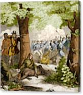 Battle Of Oriskany, 1777 Canvas Print