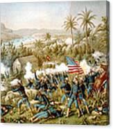 Battle Of Qusimas Canvas Print